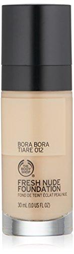 Bora Bora Body - The Body Shop Fresh Nude Foundation, Shade 12 Bora Bora Tiare, 1 Fluid Ounce