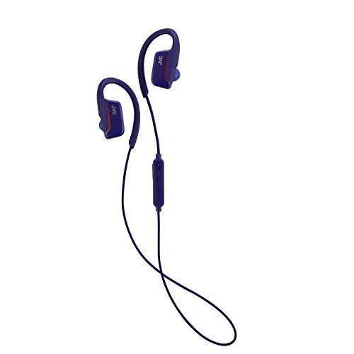 JVC Wireless Earclip Sport Headphone (Blue) HA-EC30BTA