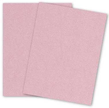 Stardream Rose (Metallic 8.5X14 Legal Size Card Stock Paper - Rose Quartz - 105lb Cover (284gsm) - 150 PK)