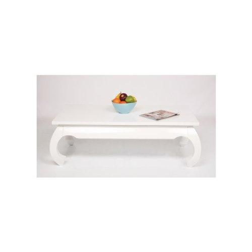 kare design table basse opium blanche 120x60 amazonfr cuisine maison