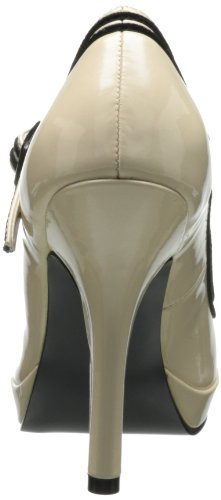 Pleaser SEC15, Damen Pumps Beige