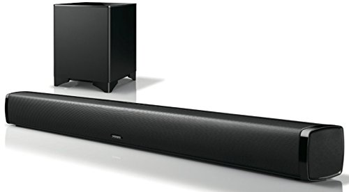 Integra Six Channel Sound bar System with Aura Sphere DSP Bl