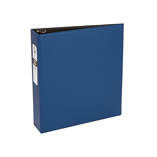 Avery Economy Binder with 2 Inch Round Ring, Blue, 1 Binder (3500)