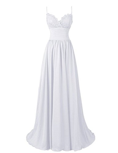 ivory a line floor length sweetheart dress - 1