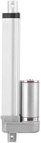 Actuador Lineal de 12v DC Actuador Motor Eléctrico Linear de Movimoiento de Elevador 50/100/150/250/300mm(150mm)