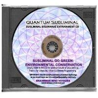 BMV Quantum Subliminal CD Go Green: Environmental Conservation (Ultrasonic Subliminal Series)