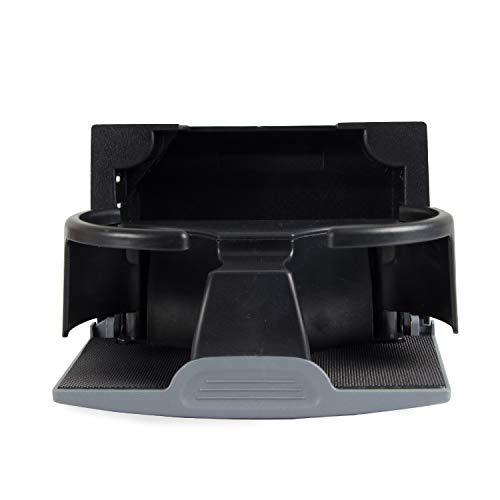 Tepeng Rear Seat Center Cup Holder Compatible with 2006-2012 Nissan Pathfinder,2006-2019 Nissan Frontier,2006-2015 Nissan Xterra, Replace Part # 96965-ZP00C (Color: Gray)