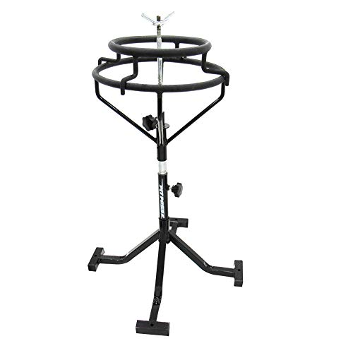 Motorcycle Tire Stand - Pit Posse Portable Motorcycle Tire Changing Stand