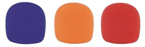 Tour Grade TWS05 Ball Style Foam Microphone Windscreen Assortment, Multi Color