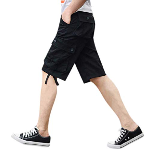 longueur Bain Sports Salopette Pantalon Shorts Noir Hommes De Multi Demi Day Short Pantacourt Travail Soldes Maillot Bermudas Surfing Natation Et lin poche FTgH6nq8