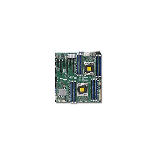 Supermicro X10DRi-T Server Motherboard - Intel C612 Chipset - Socket R3 (LGA2011-3) - 1 x Bulk Pack MBD-X10DRI-T-B ()