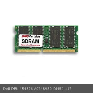 DMS Compatible/Replacement for Dell A0748950 3010cn 128MB DMS Certified Memory 144 Pin PC133 16x64 CL3 SDRAM SODIMM - DMS