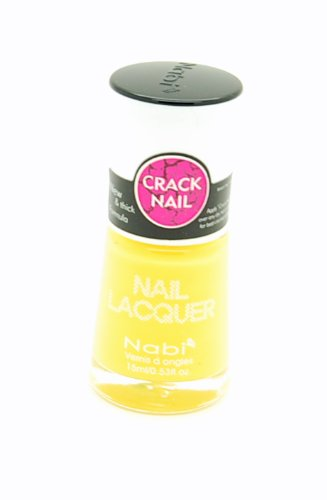 Nabi Crackle Nail Lacquer (#17 Yellow) (Crackle Studio)