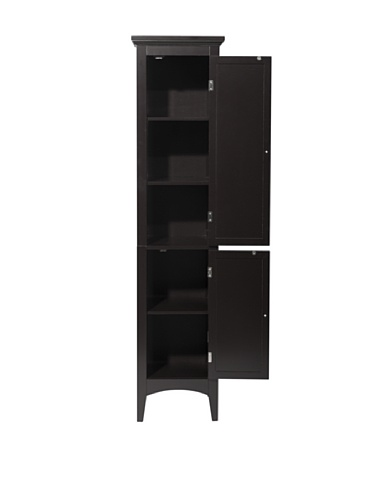 Elegant Home Fashions Slone Two-Shutter Door Linen Tower by Elegant Home Fashions (Image #2)