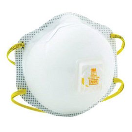 3M™ Standard N95 8516 Disposable Particulate Respirator With Cool Flow™ Exhalation Valve, Braided Headband And Adjustable M-Nose Clip - Meets NIOSH And OSHA Standards (10 Each Per Box)