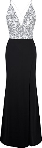 Cross Back Formal Dress - 6