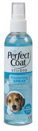 8 In 1 Pet Products DEOI6688 Pro Pet Salon Freshening Scent Dog Spray, 4-Ounce, Baby Powder, My Pet Supplies