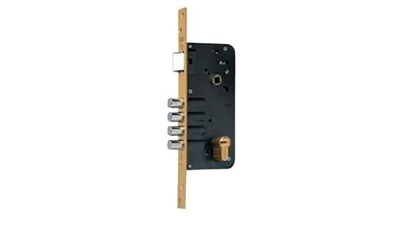 Yale 5434D50-6 Cerraduras De Alta Seguridad, Niquelado, 80Mm X 50Mm: Amazon.es: Bricolaje y herramientas