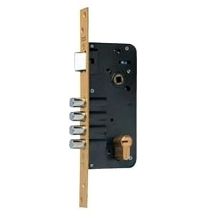 Yale 5434D50-6 Cerraduras De Alta Seguridad, Niquelado, 80Mm X 50Mm