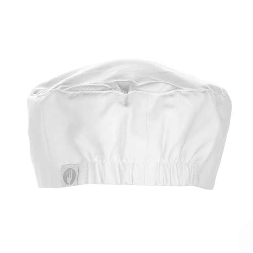 Chef Works Unisex Chef Beanie, White One Size