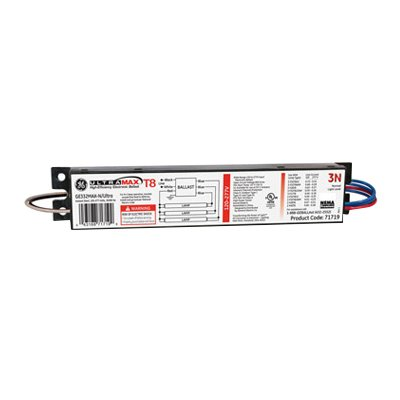 (UltraMax® High Efficiency Electronic Fluorescent Ballast, 120/277 volt, 80/82 watt, 3 X F32T8 Lamp)