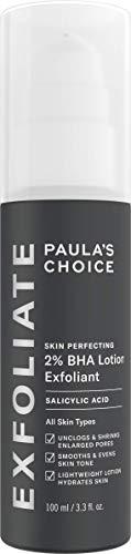 Paula's Choice SKIN PERFECTING 2% BHA Lotion Salicylic Acid Exfoliant, 3.3 Ounce Bottle Facial Exfoliator for Blackheads, Enlarged Pores, Wrinkles & Fine Lines