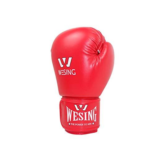 Children's Boxing Gloves, Children's Sanda Taekwondo Professional Boxing Gloves, Youth Sandbag Gloves, (6-15 Years Old) (Color : Red) by Guyuexuan (Image #1)