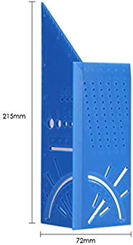 Jauge de contour en plastique 120 mm Largeur standard 10,2 cm Outil de marquage pour carrelage stratifi/é