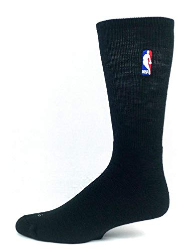 Nba Logoman Crew Sock - Black LG ()