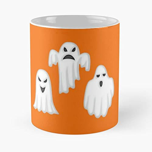 Halloween Ghost Songs For Kids Costume - 11 Oz Coffee Mugs Unique Ceramic Novelty Cup, The Best Gift For Halloween. -