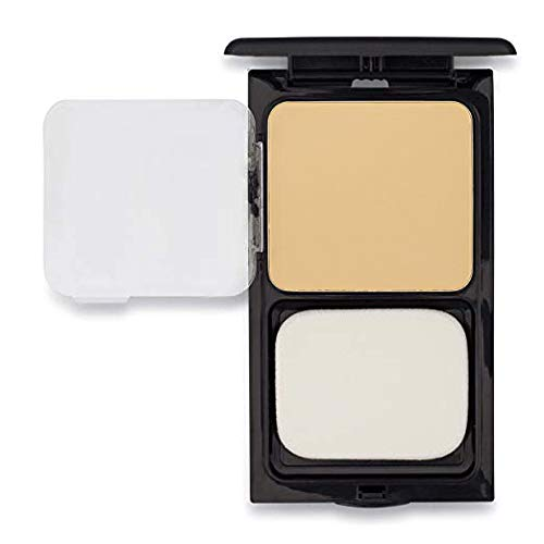Buttercup Face Powder Compact by Sacha Cosmetics, Best Lightweight, Poreless, Oil Absorbent, Matte, Pressed Powder Makeup, for All Skin Tones, 0.45 oz