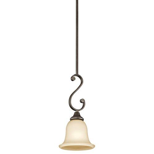 Kichler 43162OZ One Light Mini Pendant (Island Light Umber Kitchen)