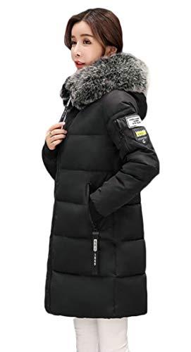Delle Fino Cappotti Donne Outwear Ispessito Puffer Cerniera Piumino 1 Eku vwRqPA