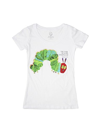 Eric Carle Merchandise - Out of Print World of Eric Carle, The Very Hungry Caterpillar Women's T-Shirt Medium