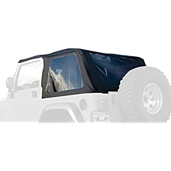 Rampage Jeep 109735 Trail Top Frameless/Bowless Sailcloth