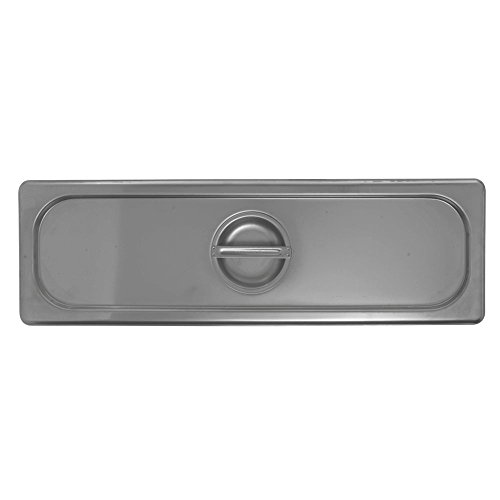 (HUBERT Steam Table Pan Cover for 1/2 Size Long Pan 22 Gauge Stainless Steel)