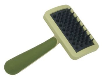 Coastal Pet Products DCPW430 Rubber Safari Dog Massage Brush