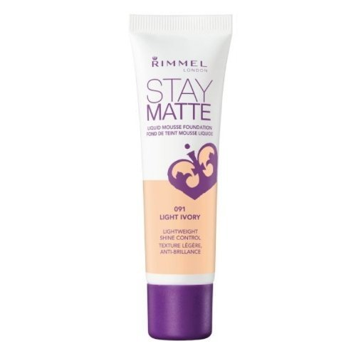 RIMMEL LONDON Stay Matte Liquid Mousse Foundation - Light Ivory by Rimmel