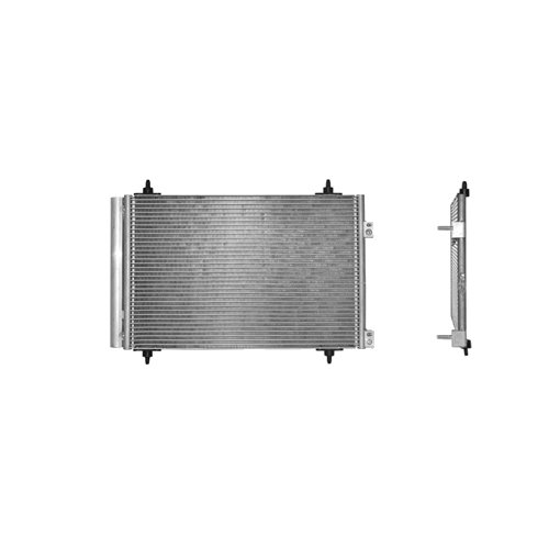 Van Wezel 9005231 condensador del sistema de climatizaci/ón