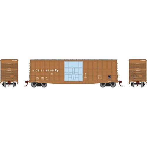 (Athearn HO 50' Waffle HC Plug Door Box KCS #114589, RND88065 )