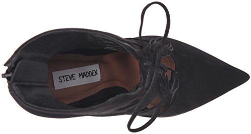 Naisten Madden Musta Boot Piper Steve Nupukkia 4gxd5wTcq