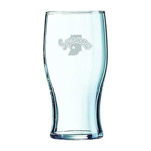 Indiana State University-Irish Pub Glass