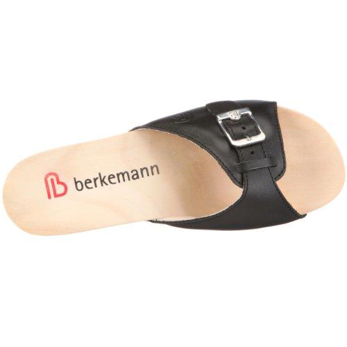 Berkemann Bornholm 219 - Zuecos para mujer Negro