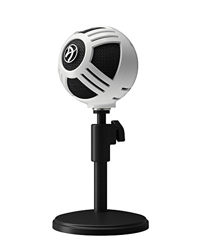 Blues Stand Technica Microphone Audio (Arozzi Sfera USB Microphone for Gaming & Streaming, PC/Mac/Linux)