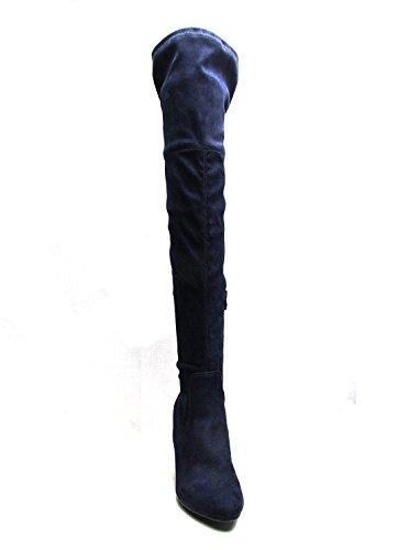 Marine pour Bleu Femme Bottes SheLikes wZYfaxqf7