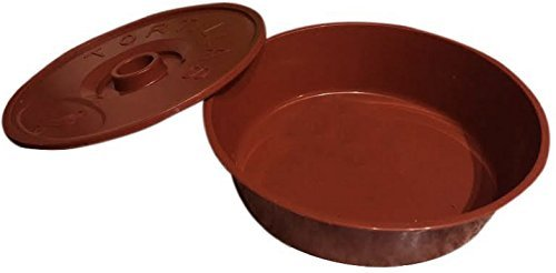 Best Tortilla Keeper : Tortilla Warmer with Lid : Size 8.5 Inches
