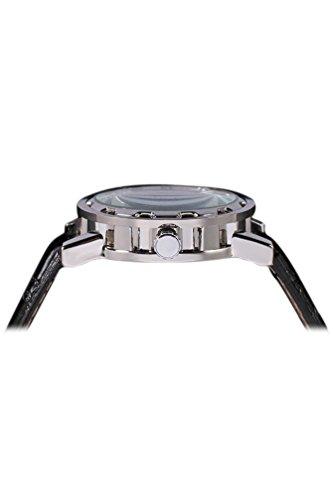 Reloj de hombre - winner Clasico Reloj de pulsera Mecanico de hombre Plata: Amazon.es: Relojes