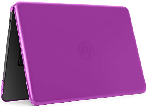 mCover iPearl Hard Shell Case for 14 HP Stream 14-AX000 14-CBxxx Series (NOT Compatible with HP Stream 14 Zxxx and HP Chromebook 14 G1/G2/G3/G4 Series) Windows laptops (HP S14-AX) (Purple)