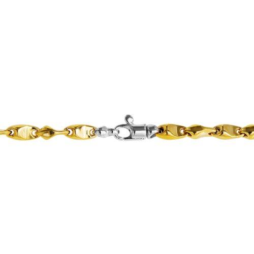 Bella Donna - 80152104B - Bracelet Mixte - Bicolore 9 Cts 375/1000 6.15 Gr