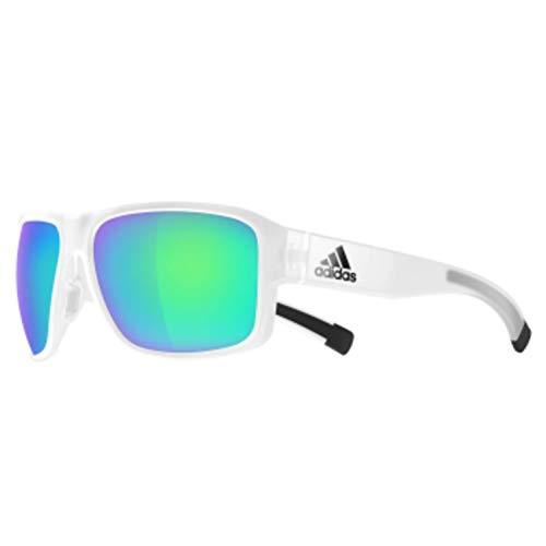 adidas Jaysor Rectangular Sunglasses crystal matte 60 mm